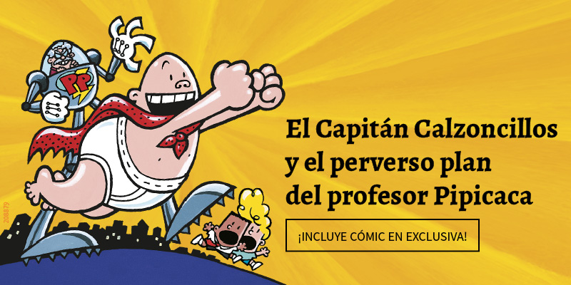 Capitán Calzoncillos 4 a todo color
