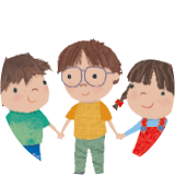 Lara, Leo y Luis