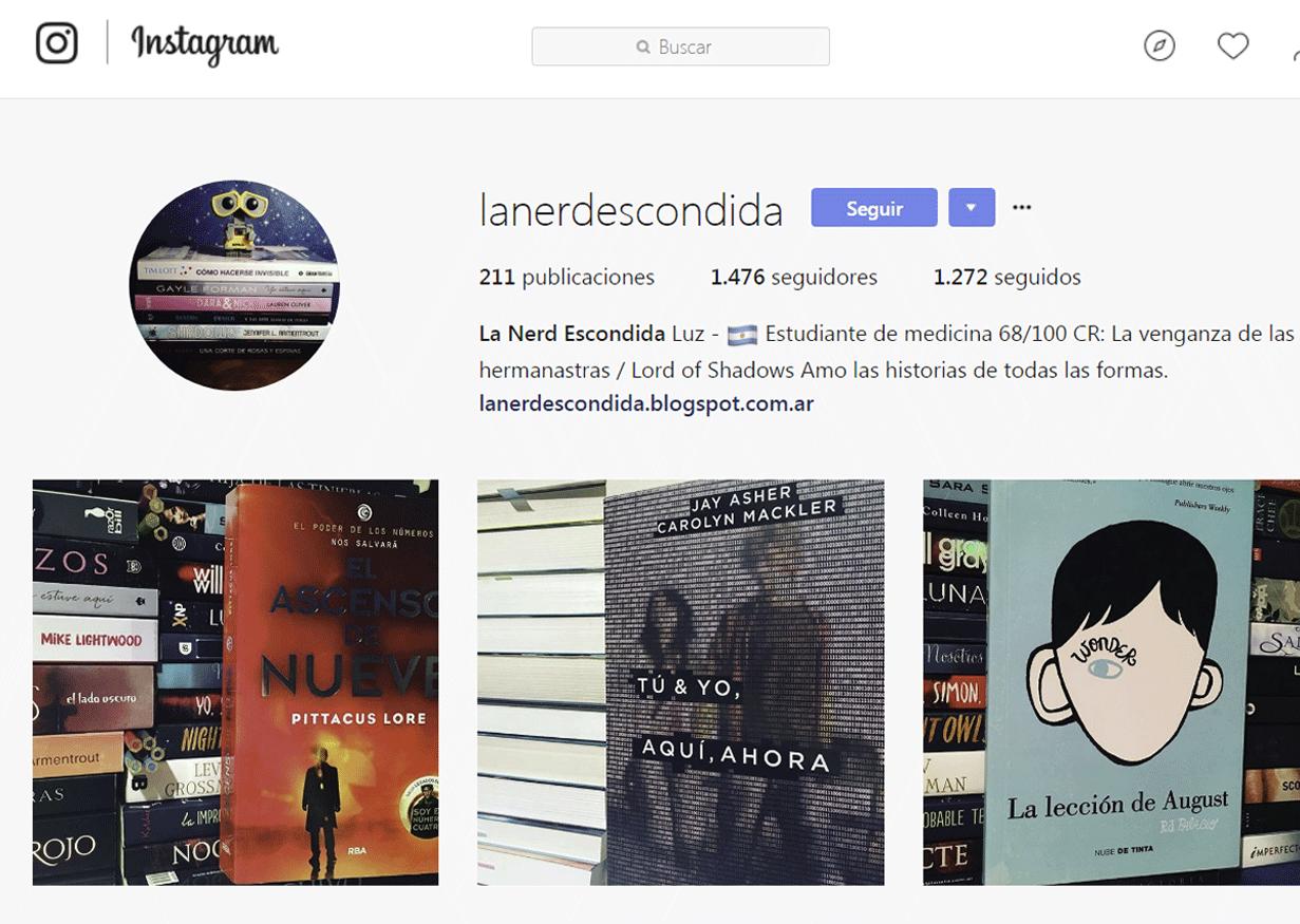 Bookstagram - La nerd escondida
