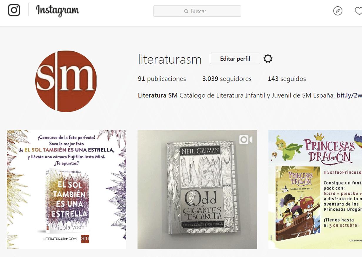 Bookstagram - Literatura SM