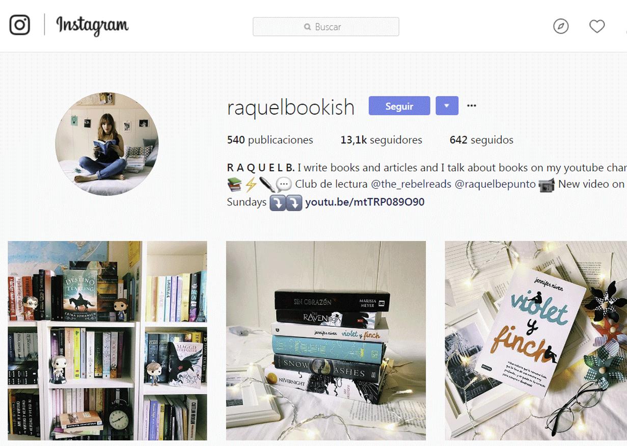 Bookstagram - Raquel Bookish