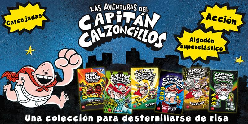 Colección Capitán Calzoncillos