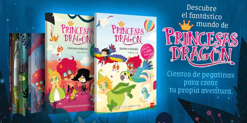 Princesas Dragón Pegatinas