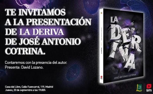 Invitación presentación La Deriva