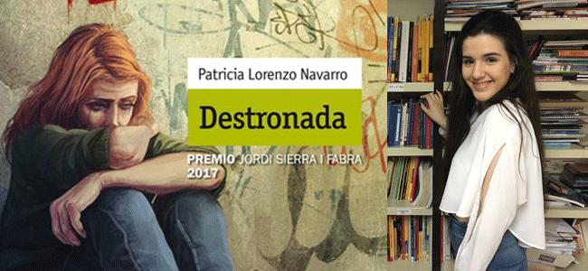 Destronada Premio Jordi Sierra i Fabra 2017