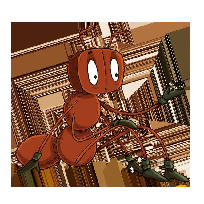 La hormiga Miga