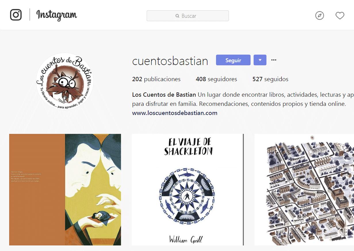 Bookstagram - Los Cuentos de Bastián