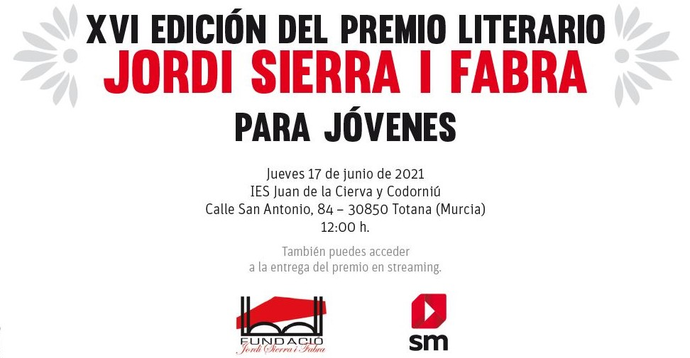 XVI Premio Jordi Sierra i Fabra