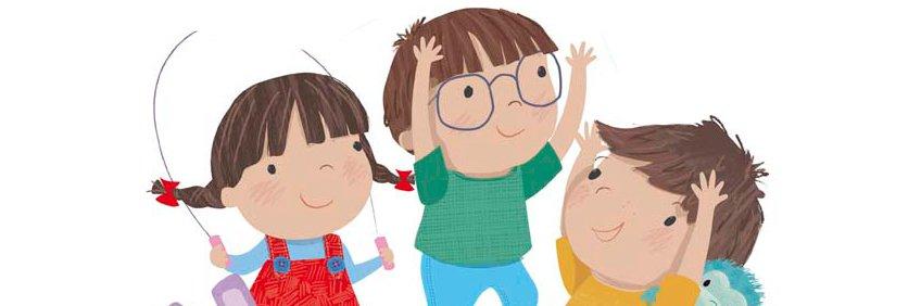 Juega y aprende con Lara, Leo y Luis