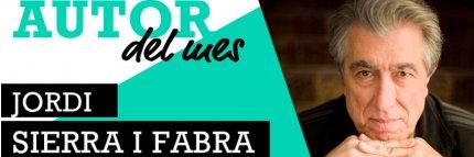 Autor del mes. Jordi Sierra i Fabra