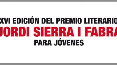 César Carrasco, XVI Premio Jordi Sierra i Fabra para Jóvenes