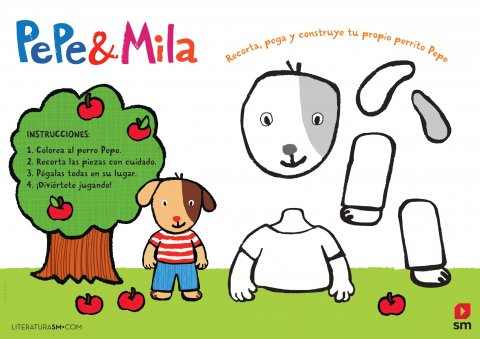 Recorta a Pepe y Mila