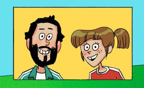 Alicia y Felipe