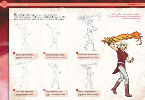 Cómo dibujar a los personajes de Idhún
