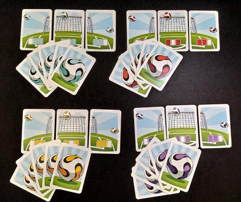 Campo 4: juego de cartas de Los Futbolísimos