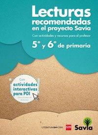 Lecturas recomendadas Savia Primaria - 5º y 6º de Primaria