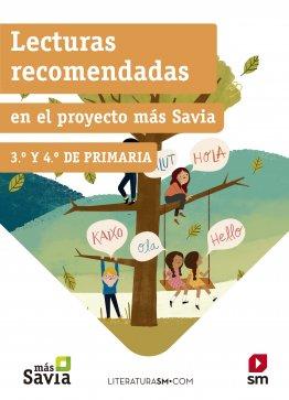 Lecturas recomendadas 3º y 4º primaria Más Savia