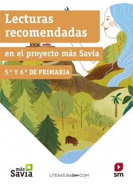 Lecturas recomendadas 5º y 6º primaria Más Savia